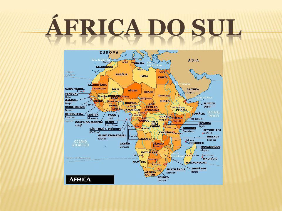 Em seis cores (preta, amarela, verde, branca, vermelha e azul), a bandeira da África do Sul apresenta no centro um Y deitado.