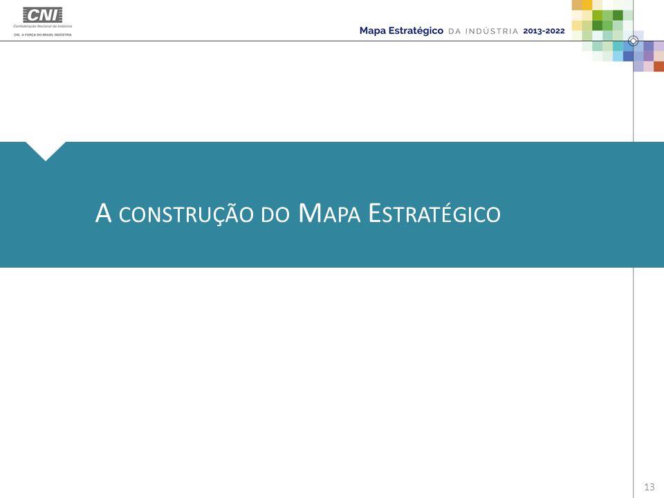 A CONSTRUÇÃO DO M APA E STRATÉGICO 13