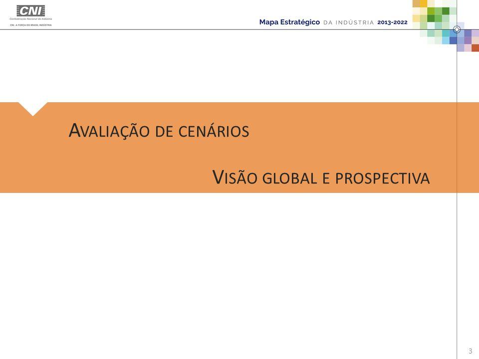 A VALIAÇÃO DE CENÁRIOS V ISÃO GLOBAL E PROSPECTIVA 3