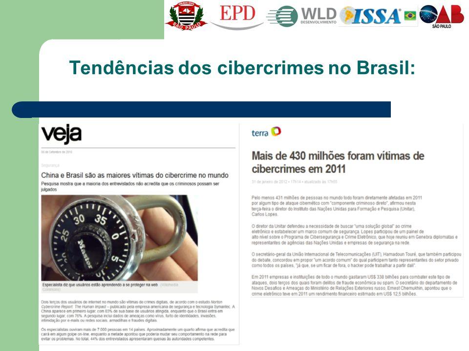 Tendências dos cibercrimes no Brasil: