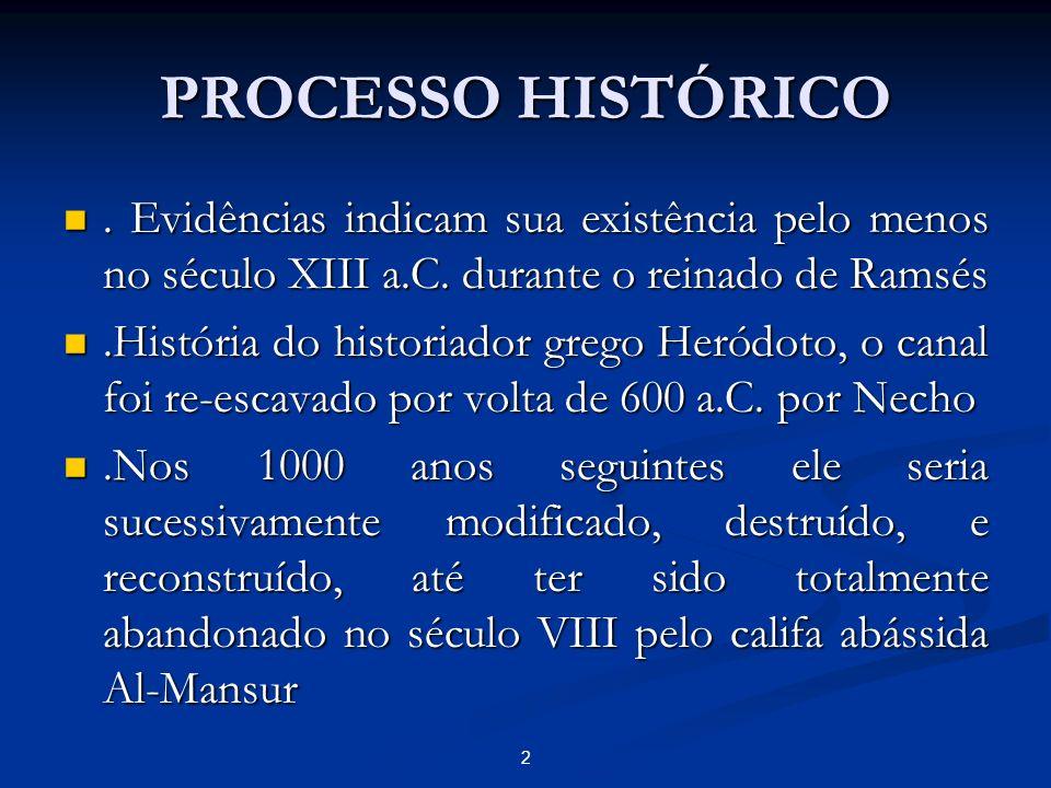 2 PROCESSO HISTÓRICO. Evidências indicam sua existência pelo menos no século XIII a.C. durante o reinado de Ramsés. Evidências indicam sua existência