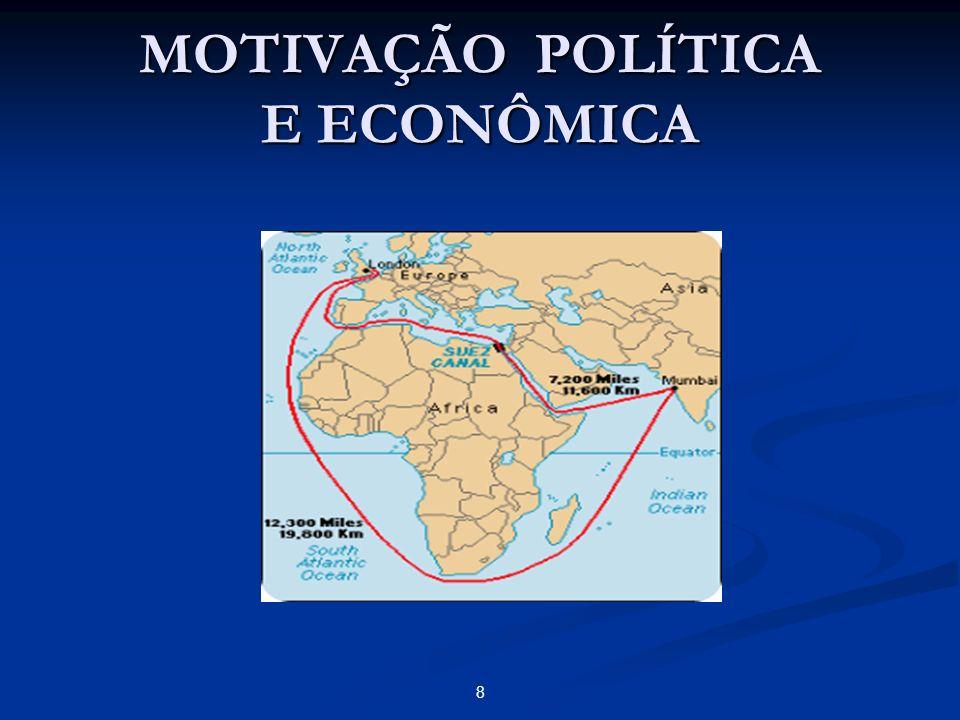 MOTIVAÇÃO POLÍTICA E ECONÔMICA 8