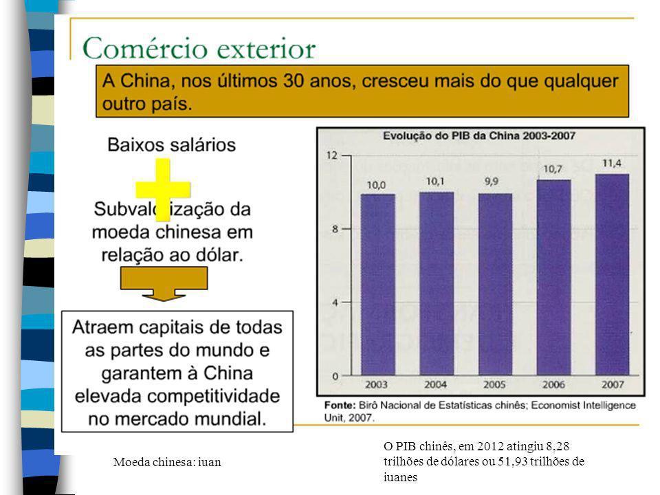 A China detém uma das cinco maiores indústrias siderúrgicas do mundo- Baosteel,