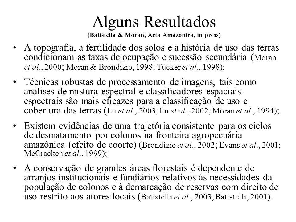 Áreas de Estudo Santarém Rondônia Altamira Marajó Tomé-Açu Igarapé-Açu Yapu Acre Manaus
