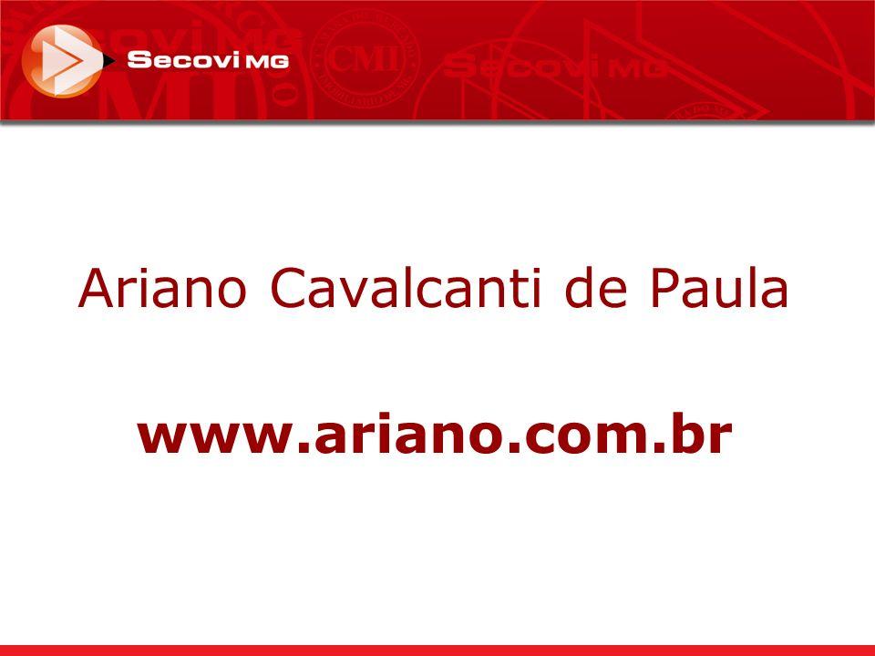 Ariano Cavalcanti de Paula www.ariano.com.br