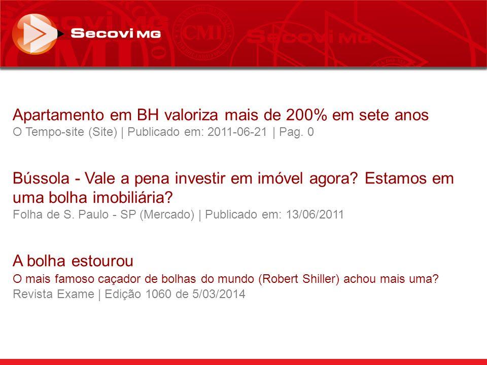 Apartamento em BH valoriza mais de 200% em sete anos O Tempo-site (Site) | Publicado em: 2011-06-21 | Pag.