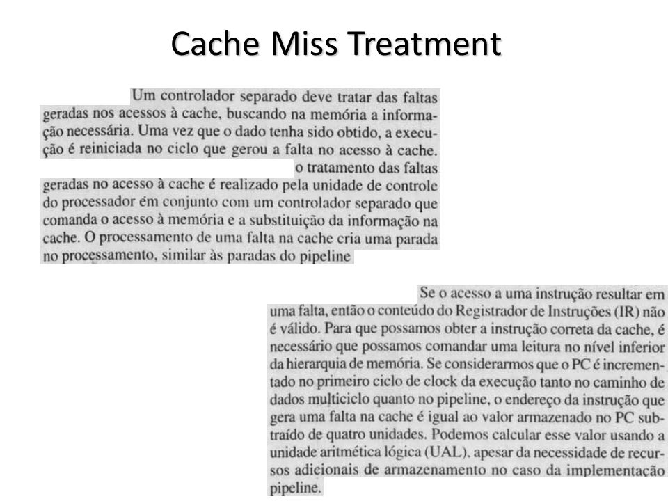 vargas@computer.org8 Cache Miss Treatment