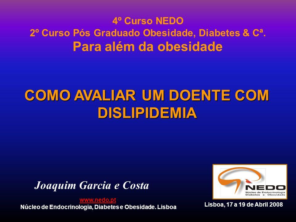 Joaquim Garcia e Costa 4º Curso NEDO 2º Curso Pós Graduado Obesidade, Diabetes & Cª. Para além da obesidade www.nedo.pt Núcleo de Endocrinologia, Diab
