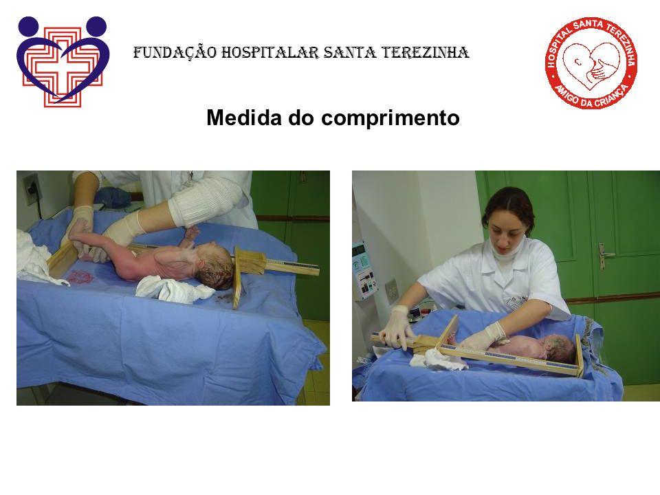 Medida do comprimento Fundação Hospitalar Santa Terezinha