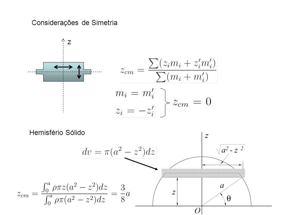 Mecânica dos Corpos Rígidos - Movimento no Plano z x y O r1r1 r2r2 r3r3 r4r4 r5r5 r6r6 r7r7 r8r8 r cm