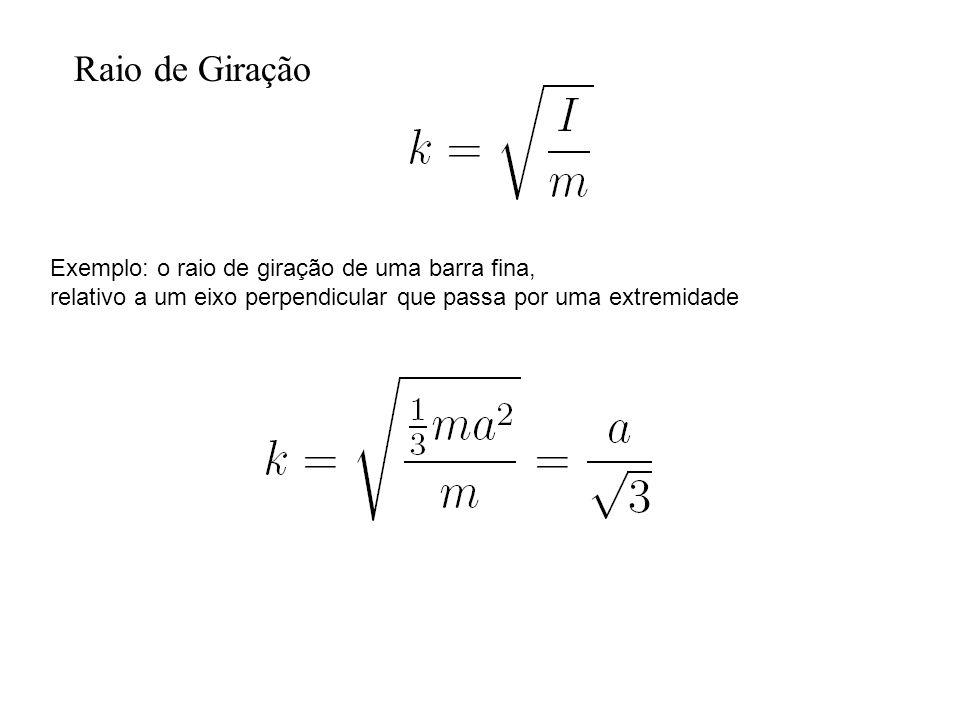 x y r cm riri Teorema dos Eixos Paralelos riri