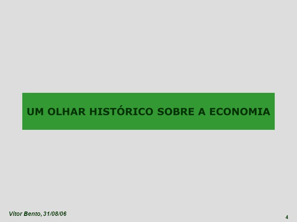 Vítor Bento, 31/08/06 5 UM CAMINHO MILENAR DE PROGRESSO... Fonte: Madisson (OCDE)