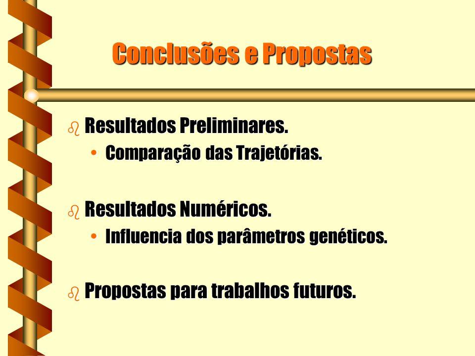 Conclusões e Propostas b Resultados Preliminares.