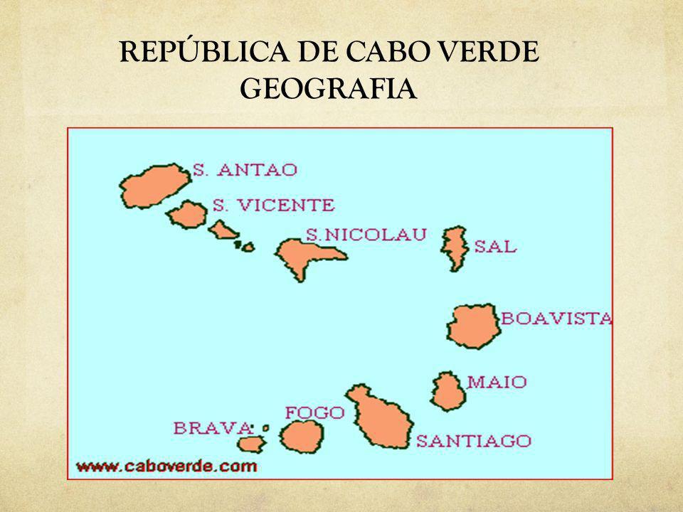 REPÚBLICA DE CABO VERDE GEOGRAFIA