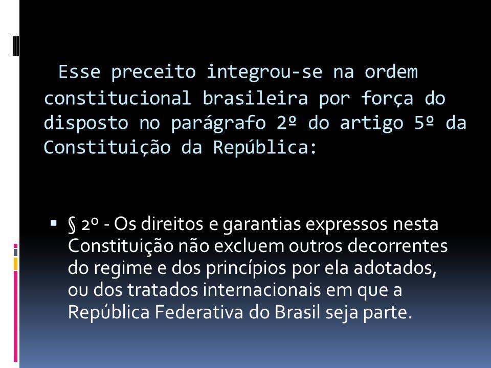 CONVENÇÃO AMERICANA DE DIREITOS HUMANOS (1969) [1] [1] (PACTO DE SAN JOSÉ DA COSTA RICA) Artigo 4º - Direito à vida 1.