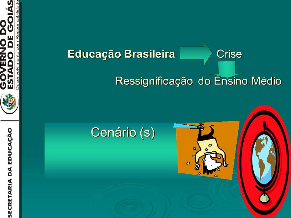 Educação Brasileira Crise Ressignificação do Ensino Médio Cenário (s)