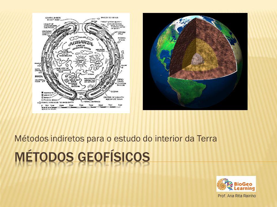 Planetologia e Astrogeologia Métodos geofísicos – baseiam-se nas características físicas dos materiais terrestres Geotermismo Sismologia Gravimetria Geomagnetismo 2
