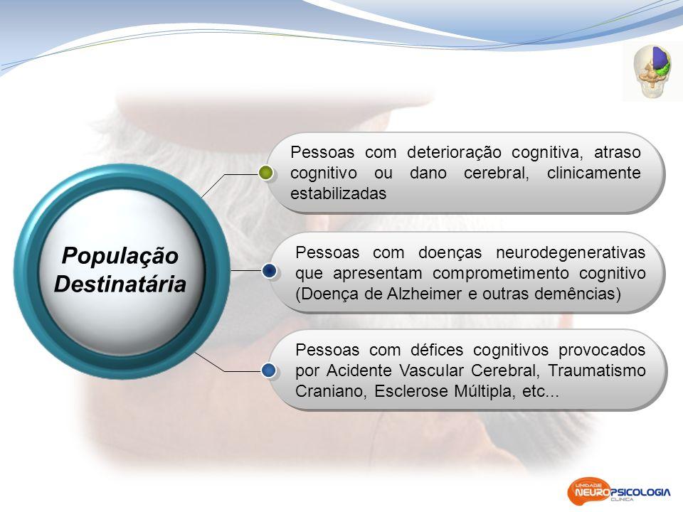Programa de Reabilitação Neuropsicológica Consulta de Memória e Estimulação Cognitiva Programas de Intervenção Programas Programa de Avaliação Neuropsicológica