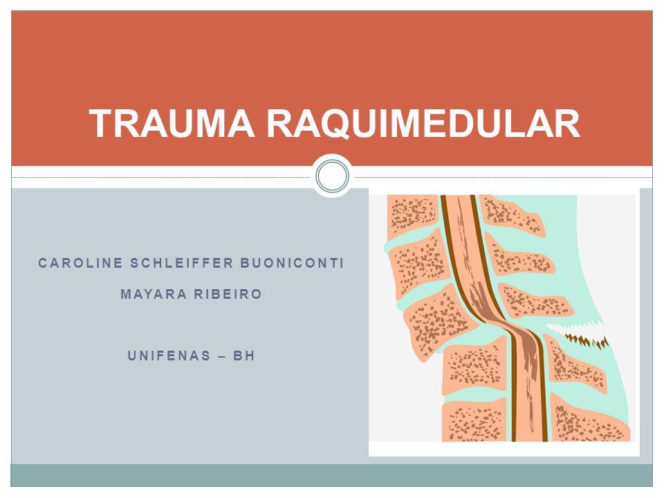 6.TRATAMENTO Indicações do tratamento cirúrgico: Instabilidade do segmento vertebral e lesão neurológica Objetivos do tratamento definitivo: - Preservar a anatomia e função da medula espinhal - Restaurar o alinhamento da coluna vertebral