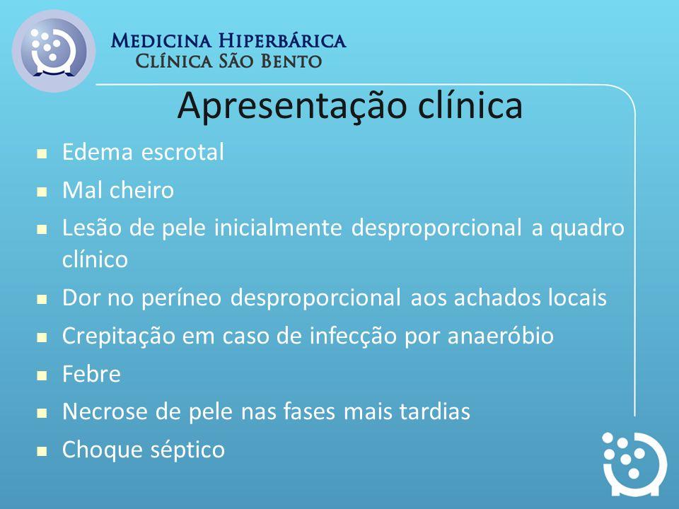 Patologias Associadas Diabetes 60% Alcoolismo 60% Imunossupressão Pobre higiene Paciente hospitalizado Doença maligna Dependente de drogas Má nutrição