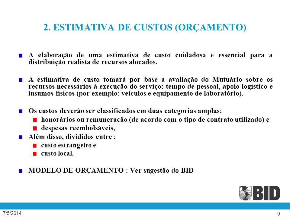 7/5/2014 70 SELEÇÃO DE CONSULTORES INDIVIDUAIS OS CONSULTORES SERÃO SELECIONADOS POR MEIO DA COMPARAÇÃO DAS QUALIFICAÇÕES DE PELO MENOS 3 (TRÊS) CANDIDATOS ENTRE AQUELES QUE TENHAM MANIFESTADO INTERESSE NA EXECUÇÃO DOS SERVIÇOS OU TENHAM SIDO CONTATADOS DIRETAMENTE PELO MUTUÁRIO ; OS INDIVÍDUOS CONSIDERADOS NA COMPARAÇÃO DEVERÃO PREENCHER OS REQUISITOS MÍNIMOS RELEVANTES DE QUALIFICAÇÃO, E OS QUE FOREM SELECIONADOS PARA CONTRATAÇÃO PELO MUTUÁRIO DEVERÃO SER OS MELHORES QUALIFICADOS E PLENAMENTE CAPACITADOS PARA O DESEMPENHO DA TAREFA ;