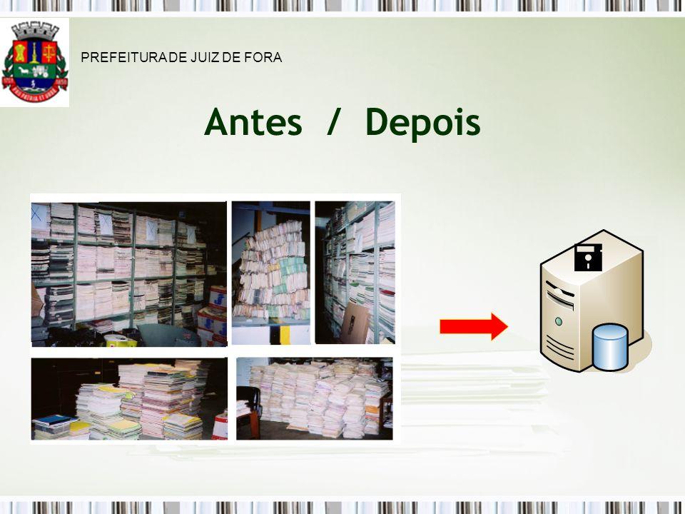 Antes / Depois PREFEITURA DE JUIZ DE FORA
