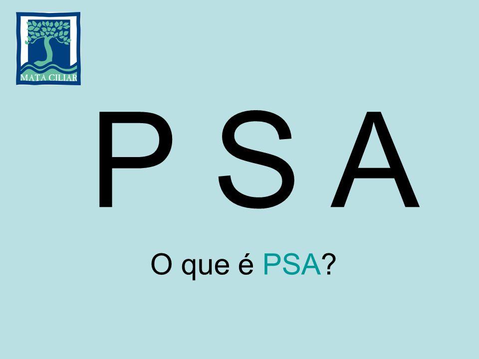 P S A O que é PSA?