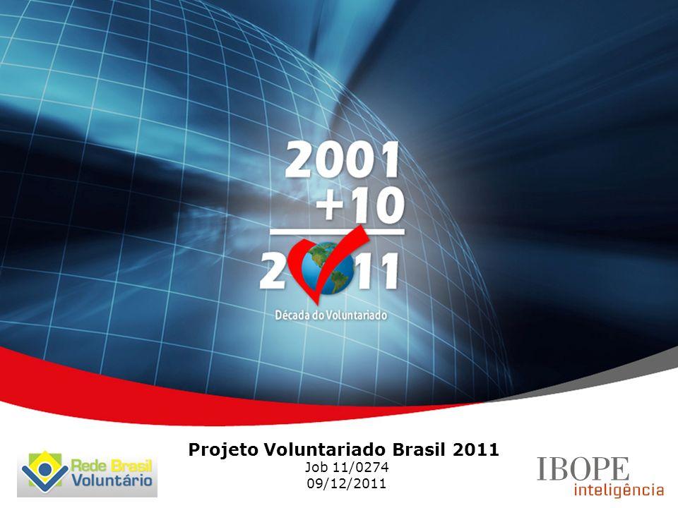 Projeto Voluntariado Brasil 2011 Job 11/0274 09/12/2011