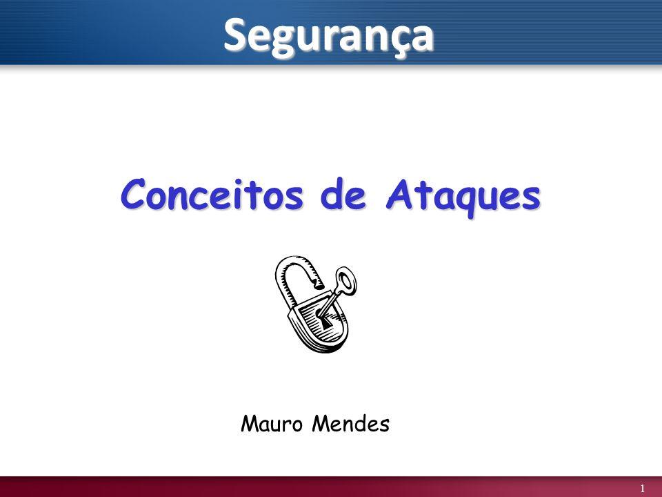 1 Conceitos de Ataques Mauro MendesSegurança