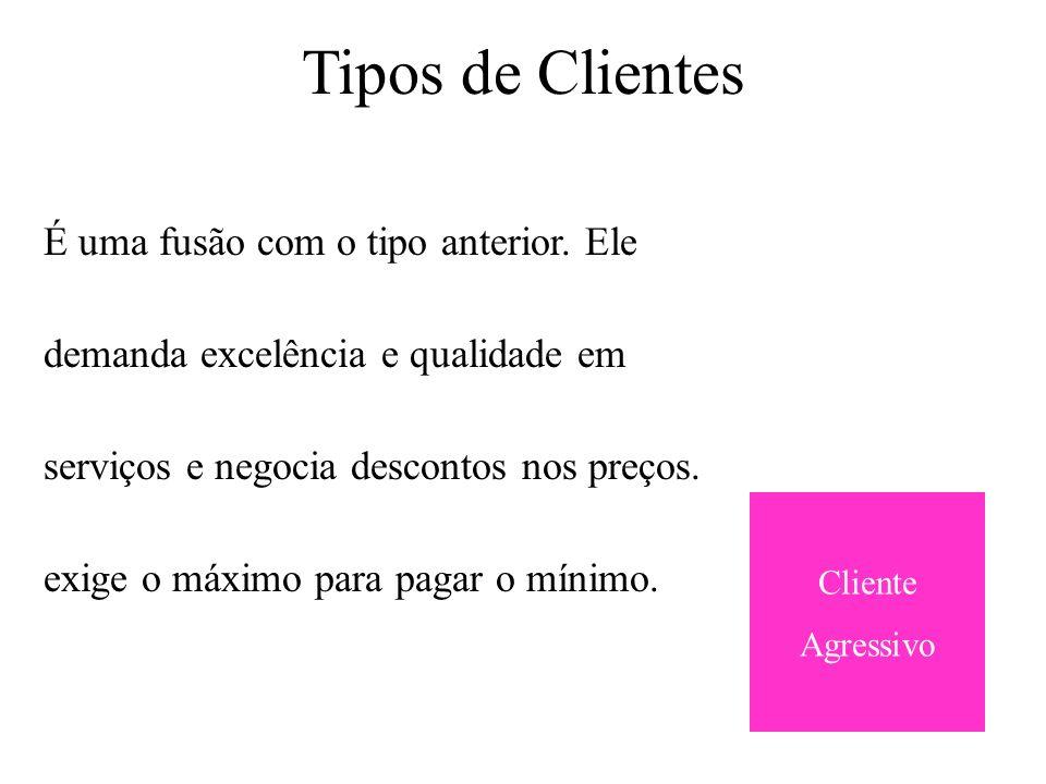 Fatores de Migração de Clientes Cliente Novo necessidade que têm do produto ou serviço.