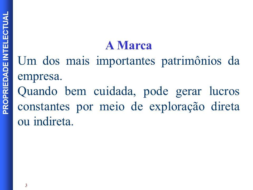 PROPRIEDADE INTELECTUAL Bibliografia BRANCO, Gilberto et al.