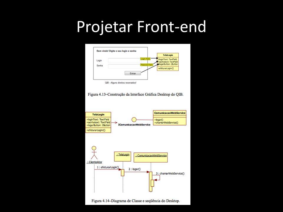 Projetar Front-end