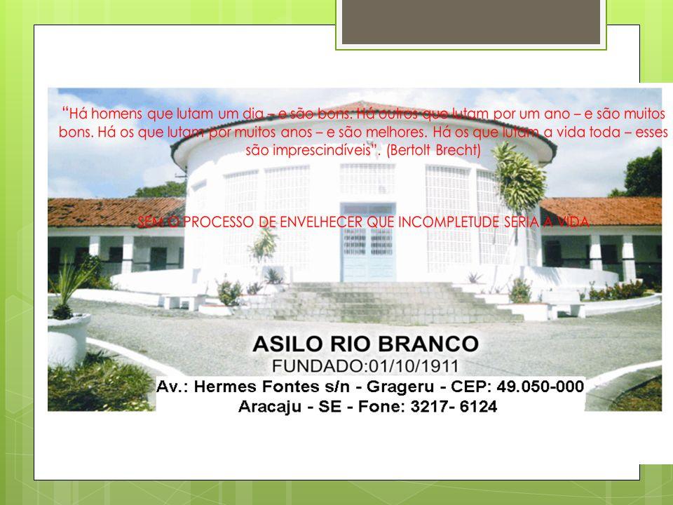 HISTÓRICO O Asilo Rio Branco é uma instituição filantrópica, sem fins lucrativos.