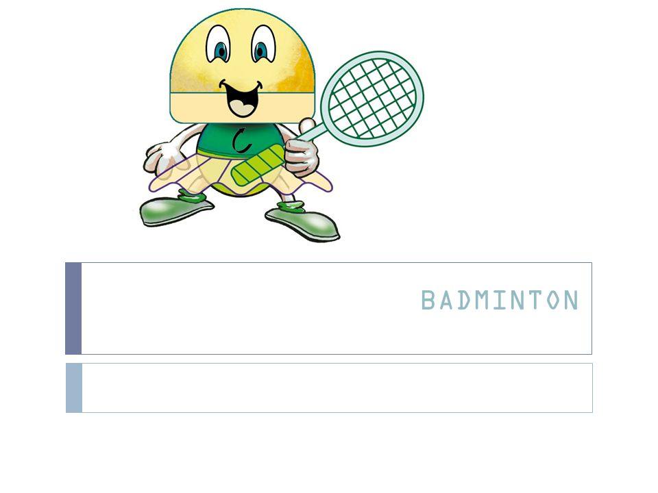 Introdução O Badminton é um jogo de raquetas, onde se utiliza um volante, que pode ser jogado individualmente ( jogo de singulares, masculinos e femininos) e em pares (jogo de pares masculinos, femininos ou mistos).