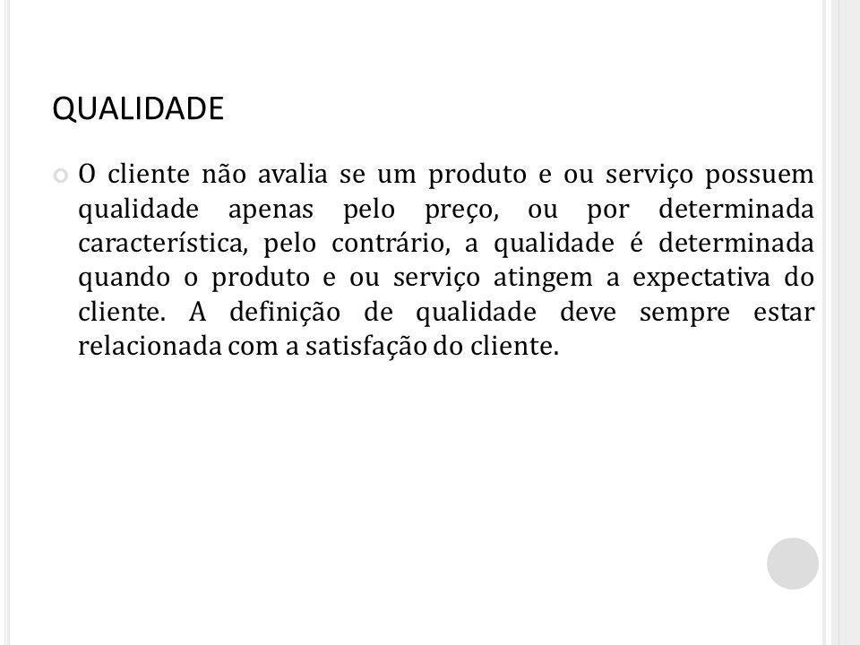 QUALIDADE EM SERVIÇOS Para Albretch (1992), qualidade em serviços é a capacidade que uma experiência ou qualquer outro fator tenha para satisfazer uma necessidade, resolver um problema ou fornecer benefícios a alguém.