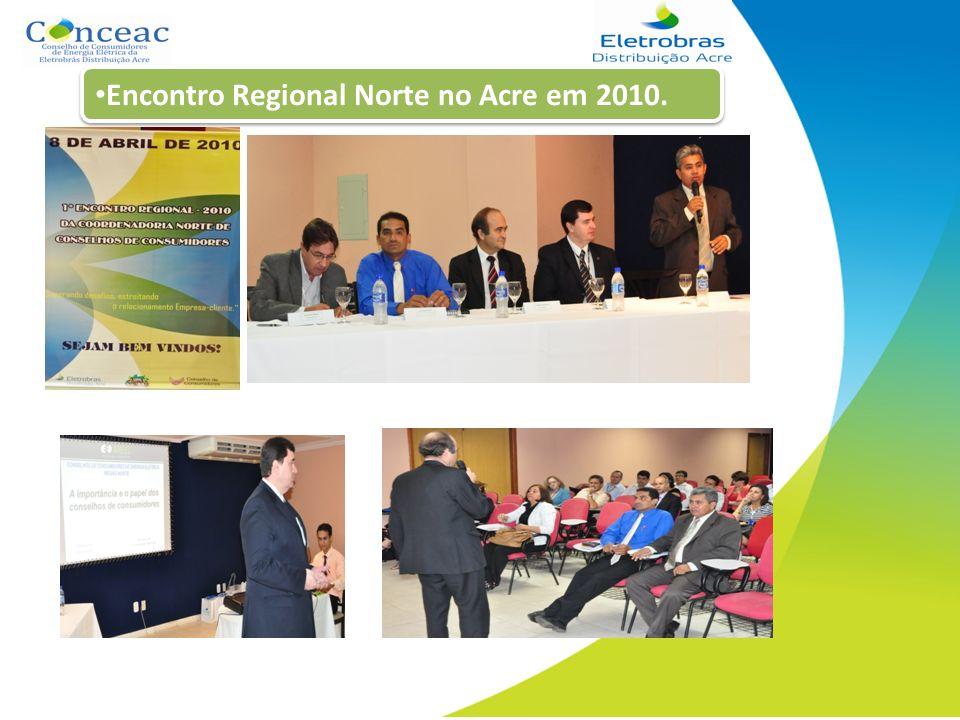 Encontro Regional Norte no Acre em 2010.