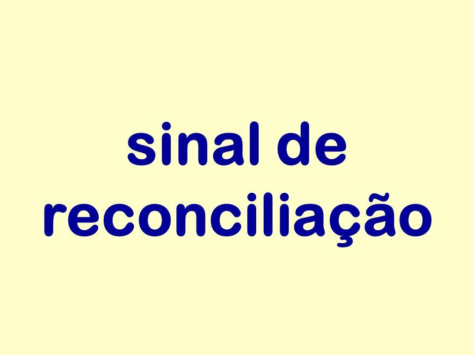 sinal de reconciliação