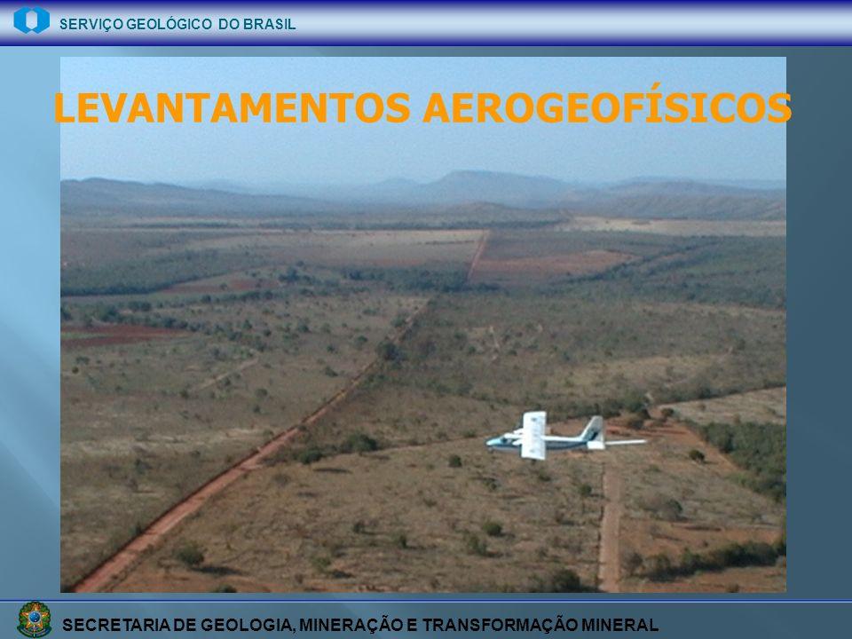 SECRETARIA DE GEOLOGIA, MINERAÇÃO E TRANSFORMAÇÃO MINERAL SERVIÇO GEOLÓGICO DO BRASIL LEVANTAMENTOS AEROGEOFÍSICOS