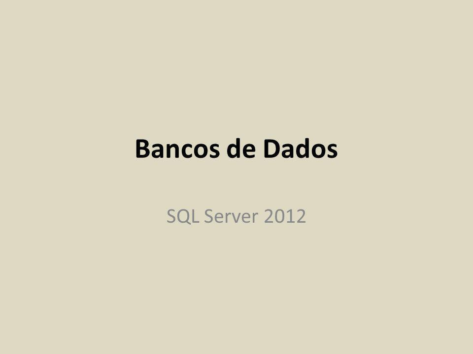 Instalação do SQL Server 2012 Express (cont.) Mudar o nome da instância para SQLEXPRELE2013 Mudar a autntenticação para Mixed Mode e configurar password do sa (system admin) para @bdele#2013