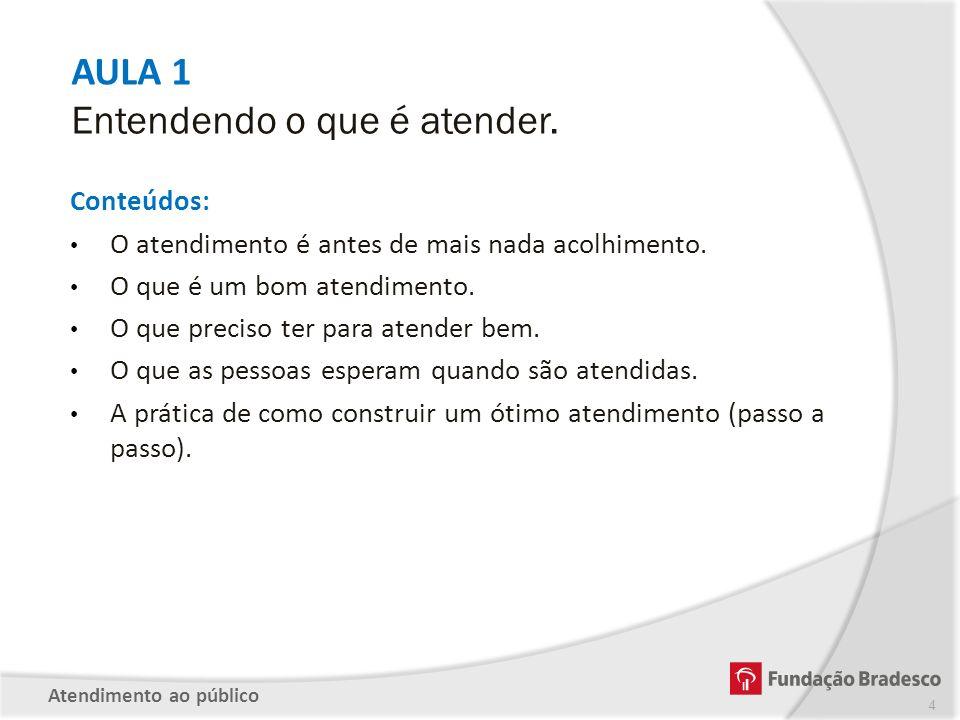 PARTE 4 – APRENDENDO A USAR OS 5 SENTIDOS NO ATENDIMENTO Saber utilizar os 5 sentidos para um atendimento de sucesso.
