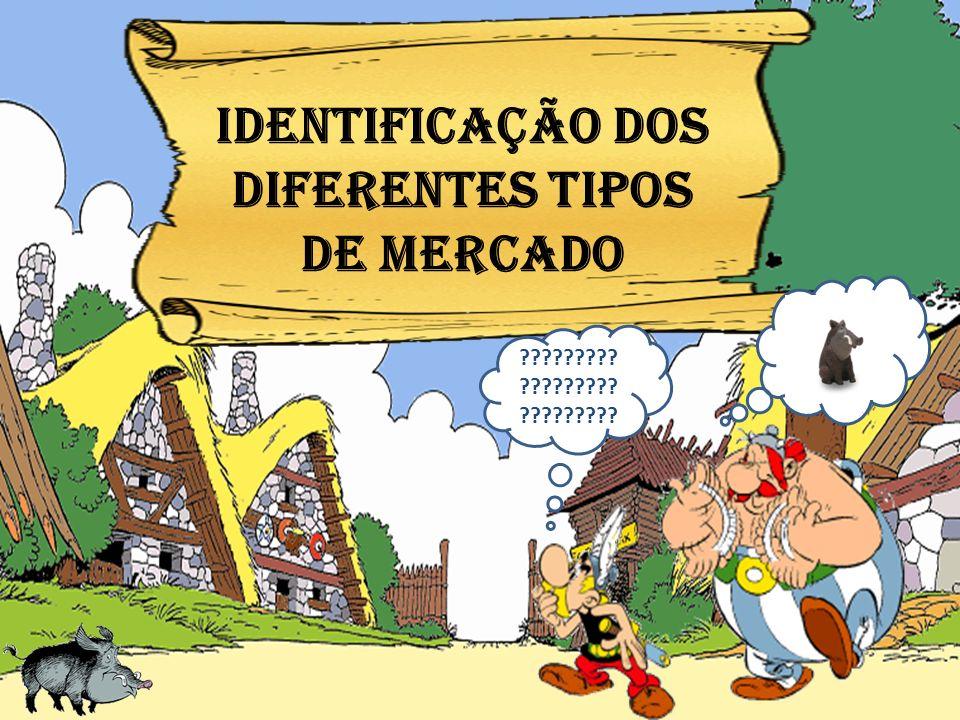 IDENTIFICAÇÃO dos DIFERENTES tipos DE MERCADO ????????? ????????? ?????????