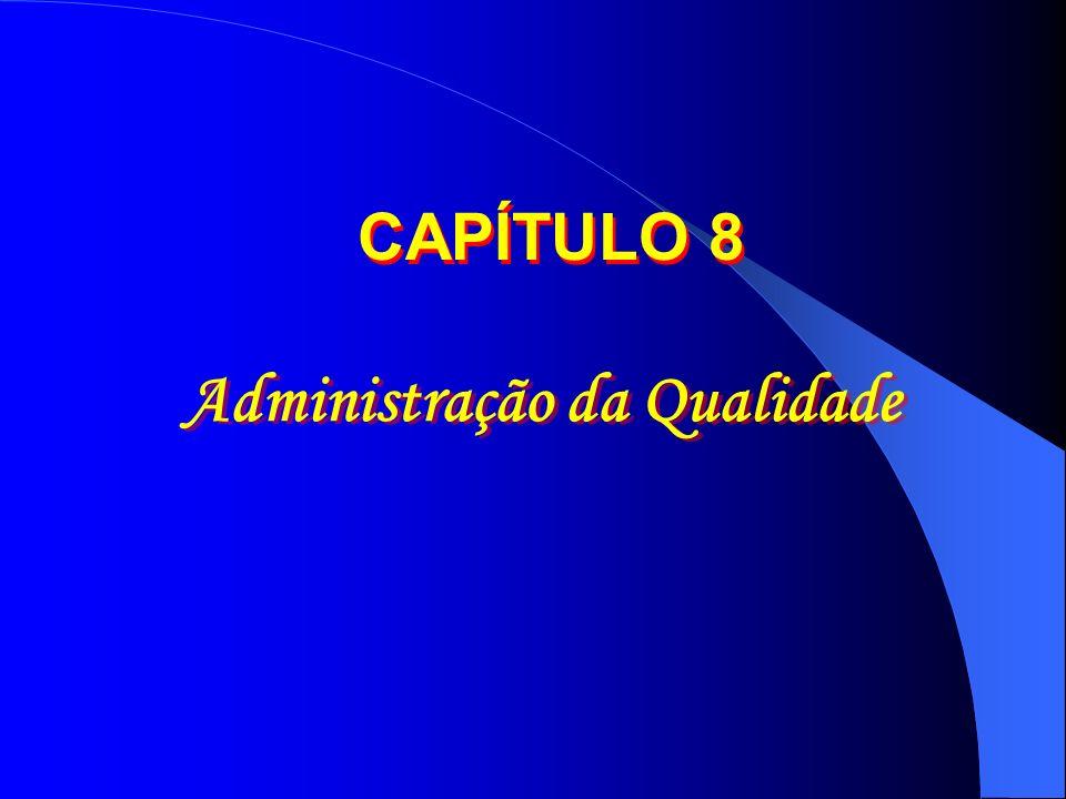 Administração da Qualidade CAPÍTULO 8