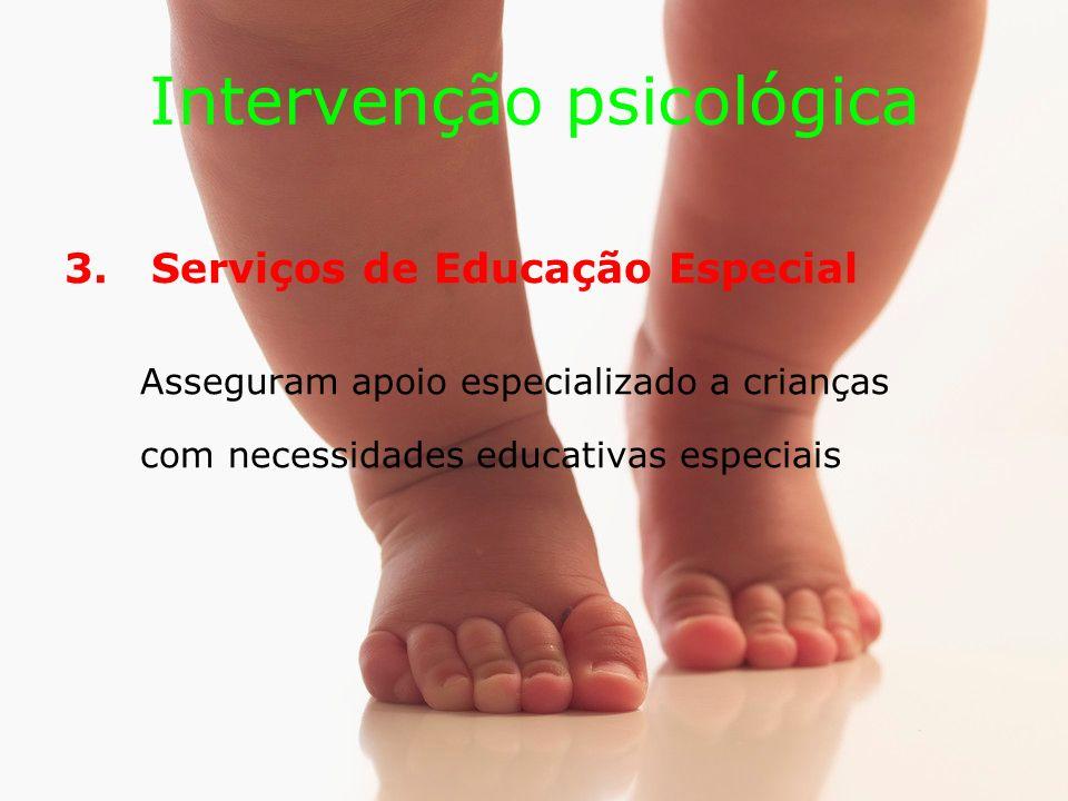 Intervenção psicológica 3.