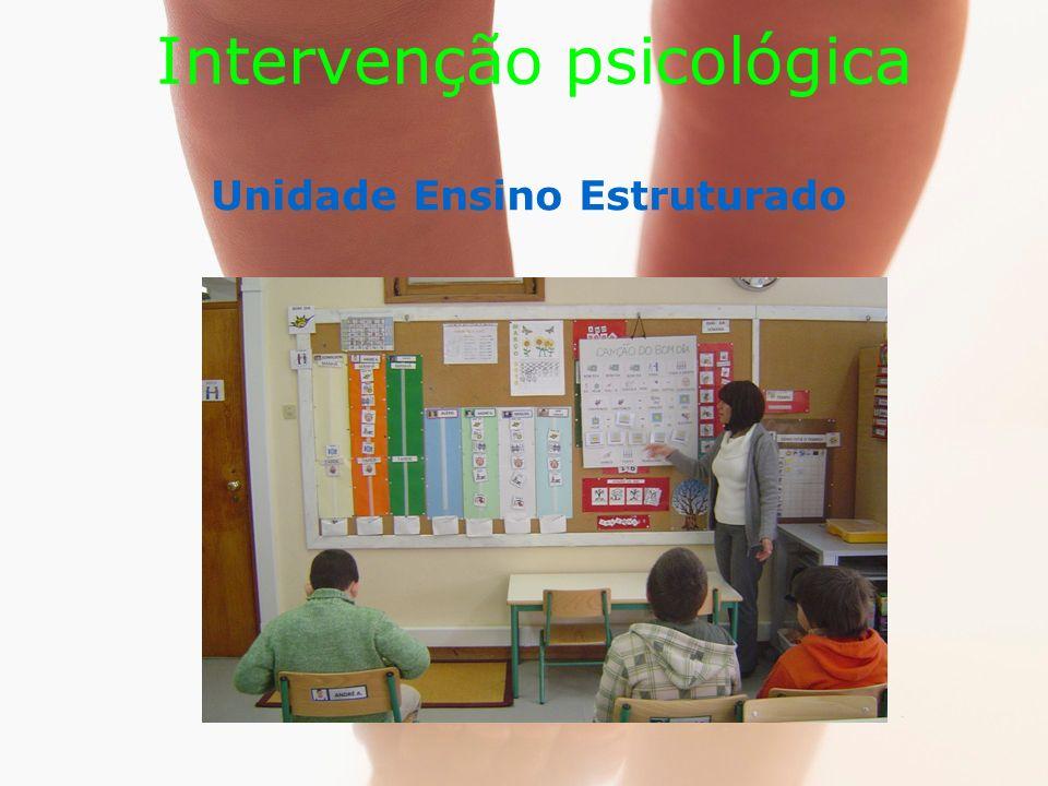 Intervenção psicológica Unidade Ensino Estruturado