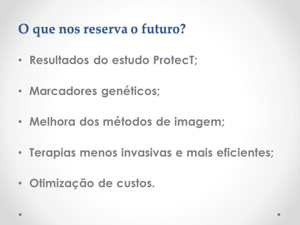 O que nos reserva o futuro.