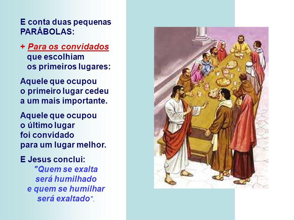 A 2ª Leitura afirma que a vida cristã exige de nós determinados valores e atitudes, entre os quais a humildade, a simplicidade, o amor... (Hb 12,18-19