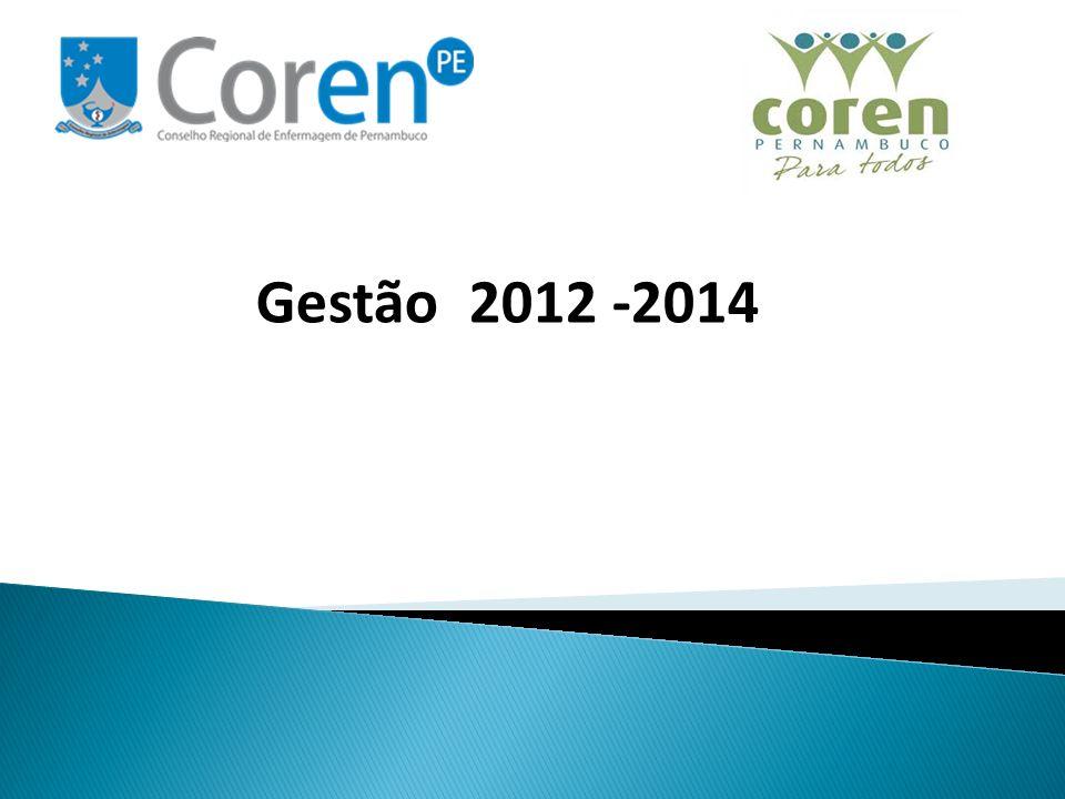 O DEFIS do Coren-PE iniciou sua reestruturação em julho de 2012, respondendo ao planejamento da gestão através da estratégia nº 17- Reestruturar o Processo de Fiscalização, que está inserida no objetivo 3- Fortalecer a Imagem do Conselho Perante os Profissionais de Enfermagem e Sociedade.