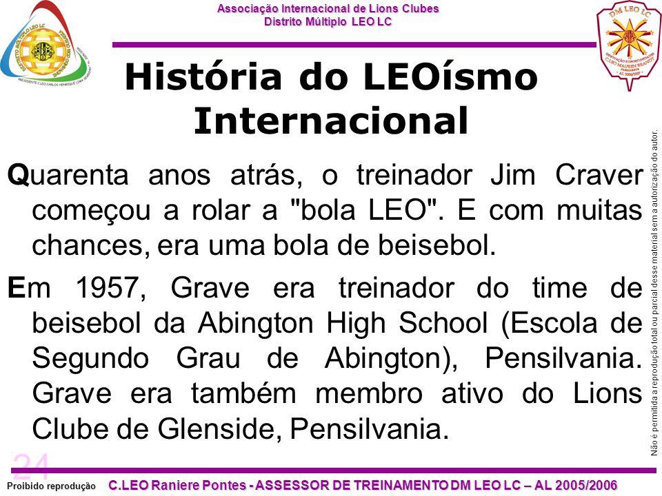 24 Proibido reprodução Associação Internacional de Lions Clubes Distrito Múltiplo LEO LC C.LEO Raniere Pontes - ASSESSOR DE TREINAMENTO DM LEO LC – AL