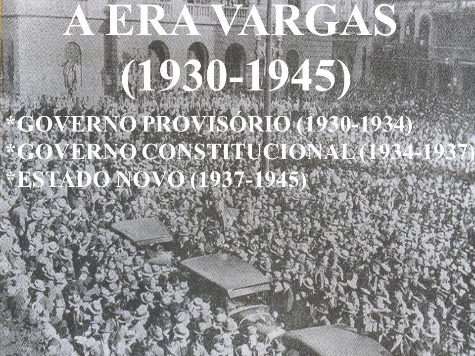 A Ação Integralista Brasileira (AIB) e a Aliança Nacional Libertadora(ANL)