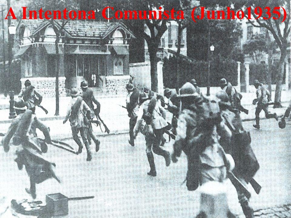 A Intentona Comunista (Junho1935)